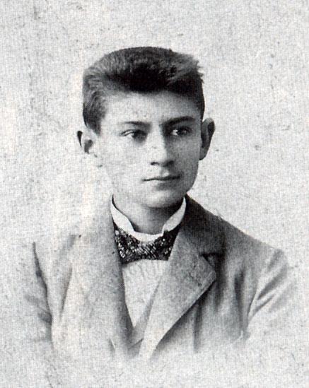Frans Kafka under skoltiden