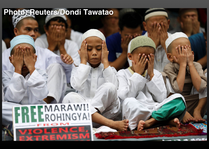 Philippines-Rohingya-Marawi-Muslim-Prayers-September-29-2017