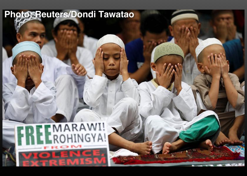 Philippines-Rohingya-Marawi-Muslim-Prayers-September-29-2017