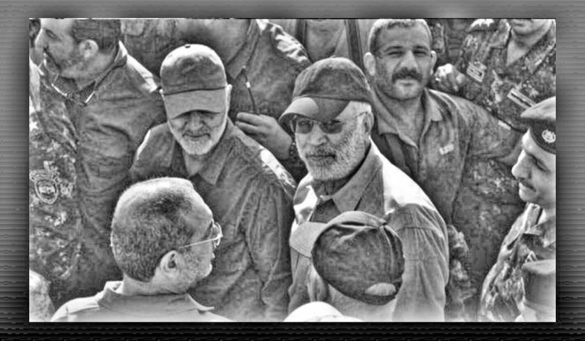 Abu Mahdi al-Mohandes and Qassem Soleimani