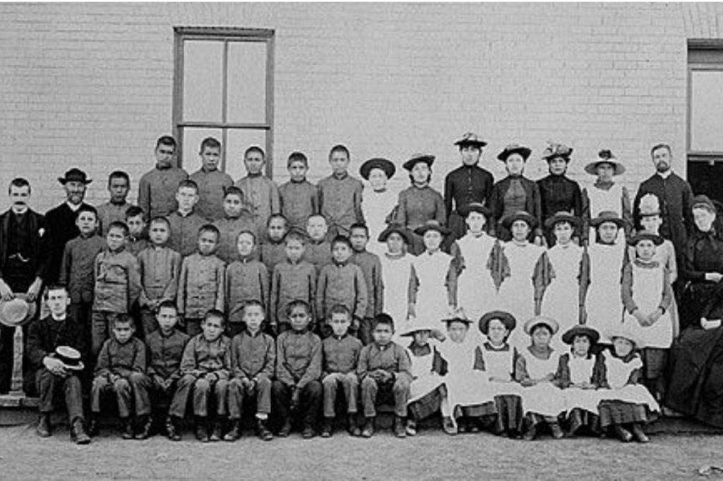 سرخپوستان کانادا کودکان سرخپوست